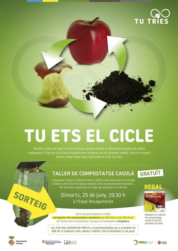 Tu ets el cicle, Taller de compostatge casolà
